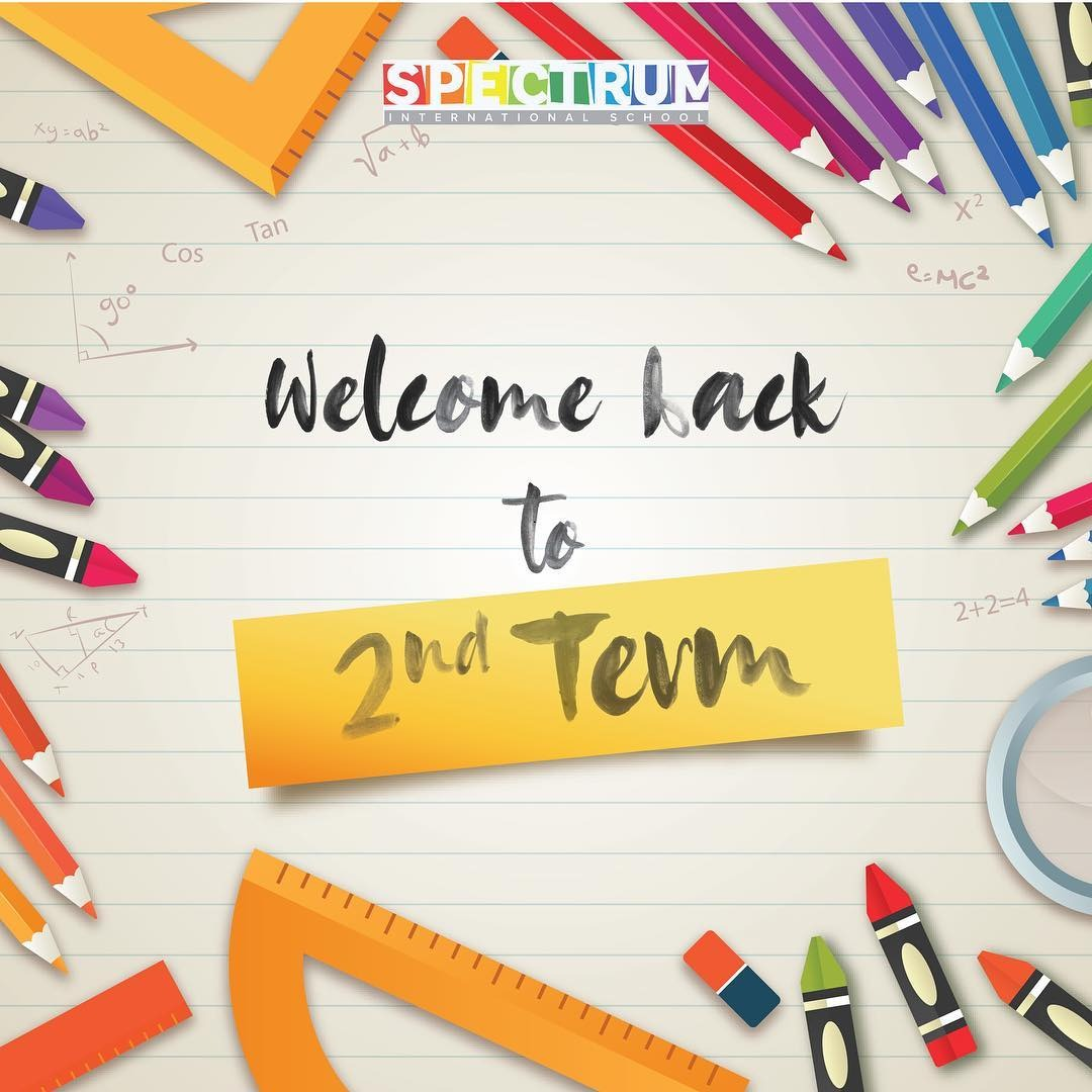 Welcome back to 2nd Term - Image 1