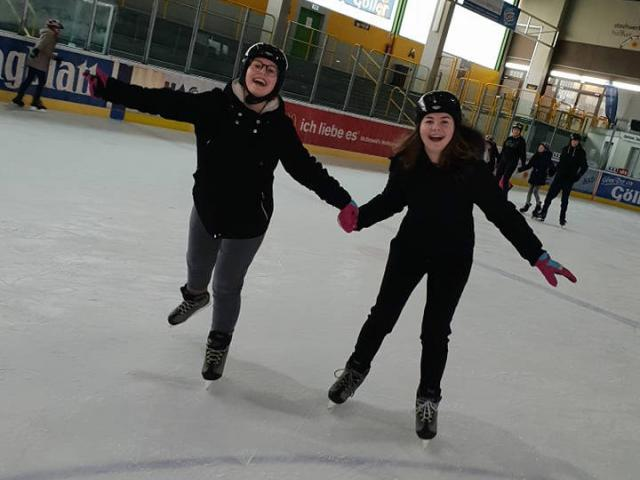 Students on Ice - 5a, 10aM + V2 in Haßfurt